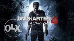 Uncharted 4 in good condition no trade