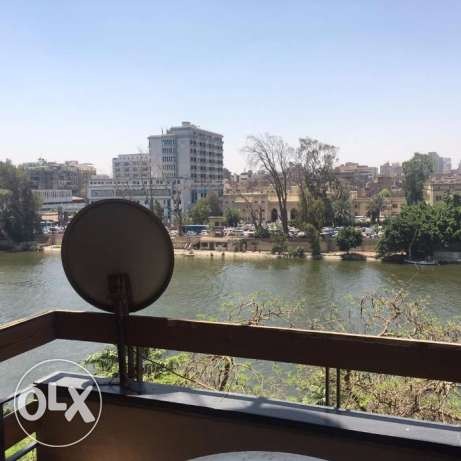 Nile view apartment 120 m 2 bedrooms for sale in Zamalek
