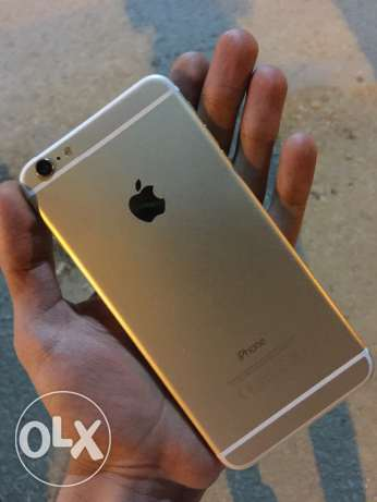 للبيع iphone 6 plus 16 Giga , لون جولد