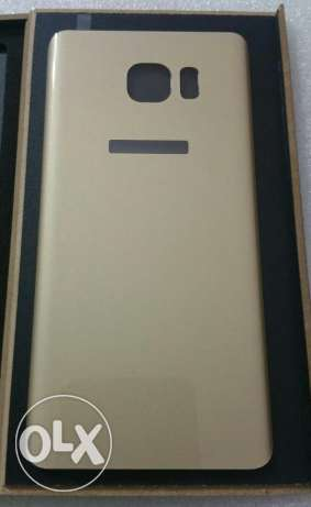Note 5 tempered glass back cover حدائق الاهرام -  2