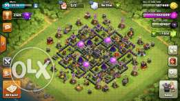 clash of clans acc Th9