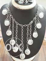 Silvered Necklace