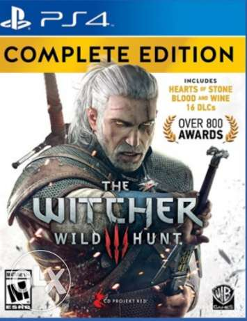 Witcher 3 Original ps4