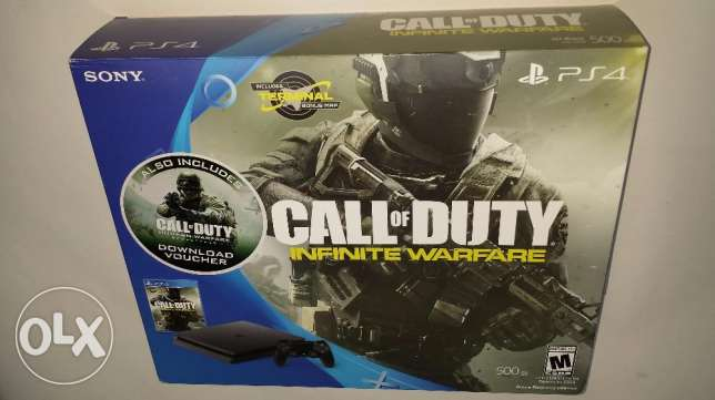 "Playstation 4 slim 500 gb + COD IW legacy edition ""ps4 slim"""