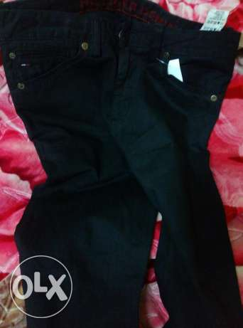 Black Tommy jeans 32 بنطلون تومي
