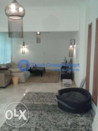 ground floor for sale in maadi degla with private garden