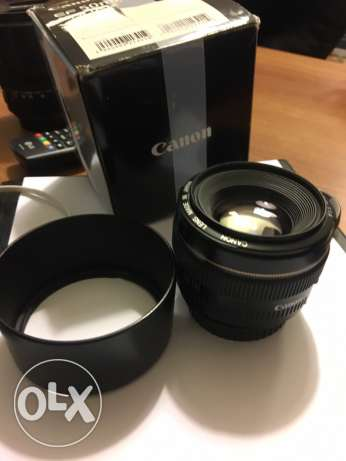 Lens Canon 50mm 1.4 liike new