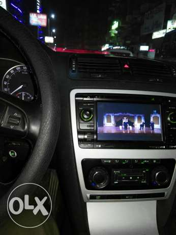 Octavia fantasia in dashboard DVD ,Gps