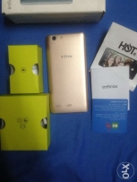 infinix Hot 3 Gold New with All Accessories