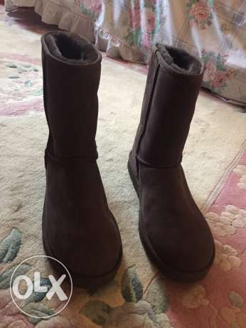 Brown Original UGGs Australia for Men Size 45.5