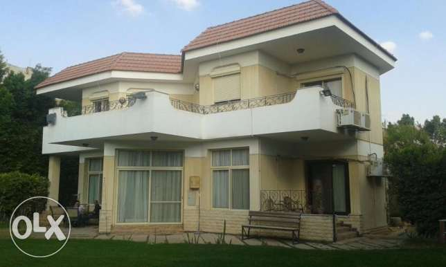 Standalone villa in Mena garden city fully finished 1014 sqm 6 أكتوبر -  1