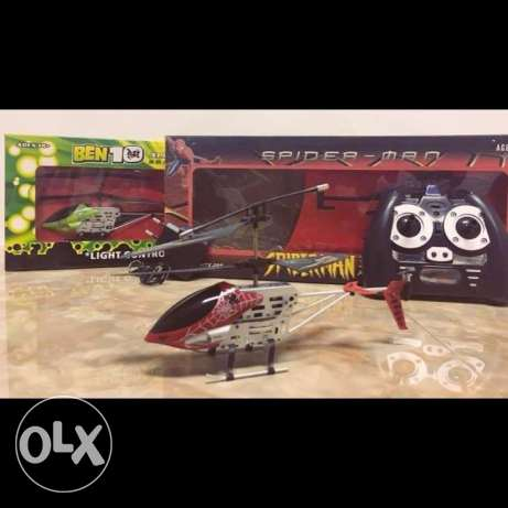 Spiderman&-Ben10 R\C helicopter