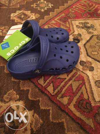 original crocs for boys from London new with tag made in Italy 29/31