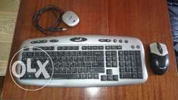 Wireless keyboard and mouse genius