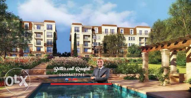 For Sale Apartment 182 Meters Location Sarai Compound New Cairo
