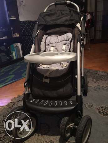 mother care stroller five pieces