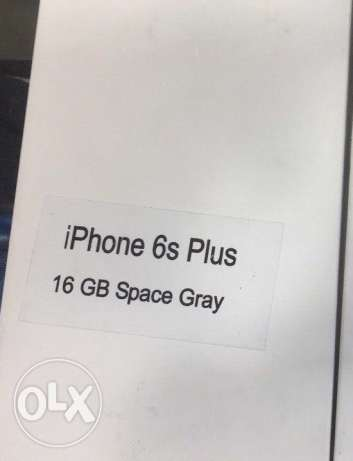 6s plus 16 GB space grey