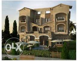 Town house in katameya gardens for sale (with no over)