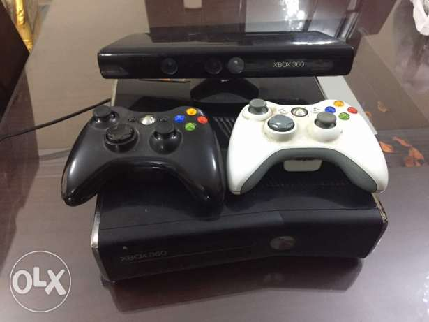 For sale Xbox 360 250 GB with Kinect