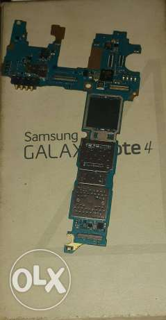 Samsung Galaxy Note4 Board With Out IC Sound Only
