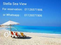 stella sea view..chalet for rent