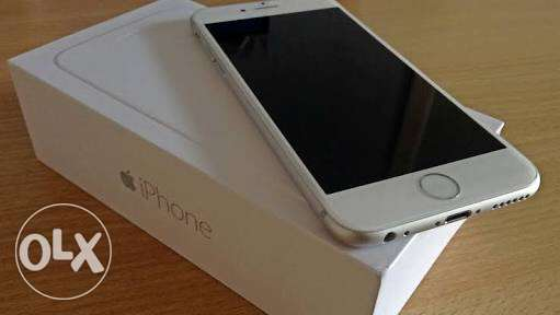 iPhone 6 16G silver with box