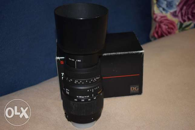 sigma lens 70-300 for Nikon auto focus with macro الإسكندرية -  5