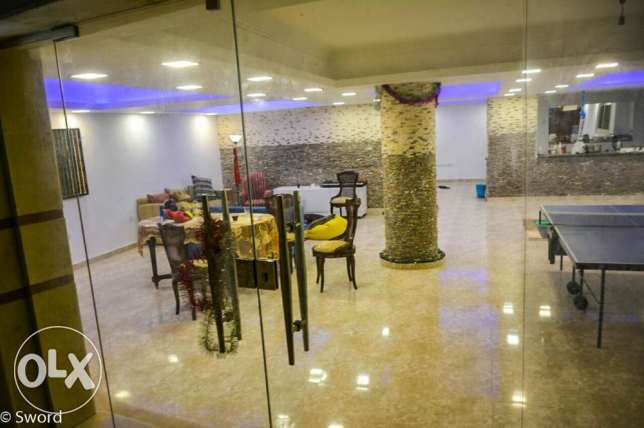 Garage for Sale Basement at Khamael compound,fully completed with all facilitie