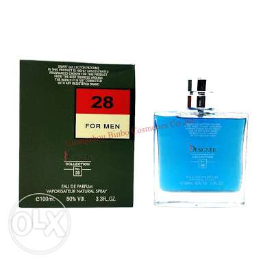No 28 for men parfum 100ml made in France