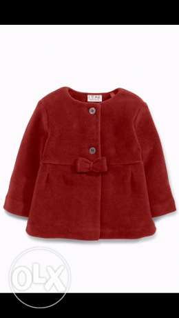 coat for girls from England
