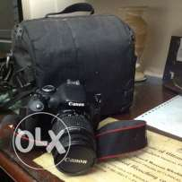 canon D600 with lens 18-55