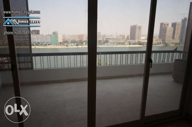 Nile View*** Semi Furnished Apt***For Rent In Prime Location – Zamalek