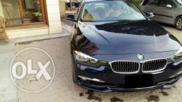 BMW 318 LUXURY كحلى فرش بيج زيرو 2017