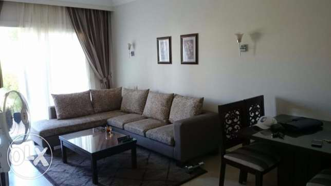 2-bedrooms Flat with private garden, sea and pool view الغردقة -  3