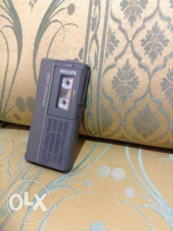 Philips recorder with mini tape