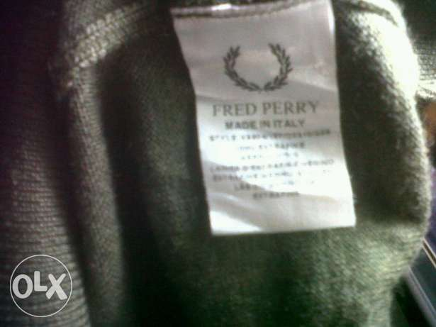Fred Perry original navy marl cardigan made in italy القاهرة -  8
