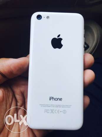 iphone 5c white with Everything