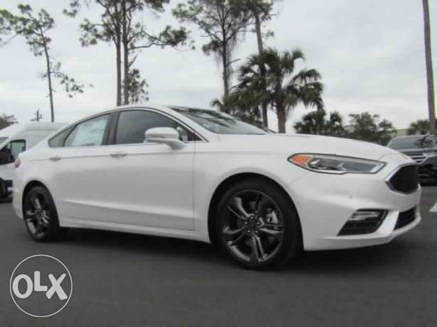 Ford Fusion Sport AWD 2017 from usa