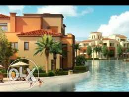 Twin house for sale in Marassi Isola fully finished prime location