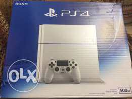 """New white PS4 """" with one joystick """""""