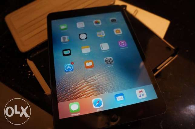 iPad Mini 2 16G Wifi/4G + جراب اصلى