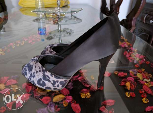 Shoes from club Aldo size 39 sued for one time مدينة نصر -  2