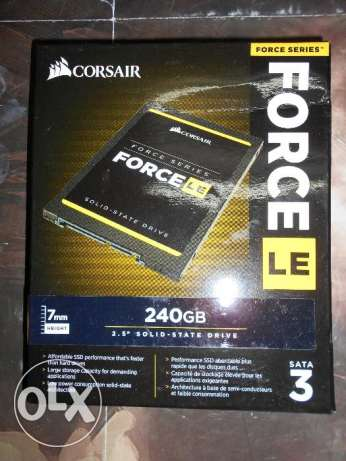 Corsair Force LE 240GB SATA III NEW Sealed