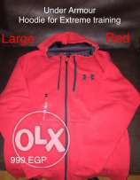 Under Armour Hoodie Red Color