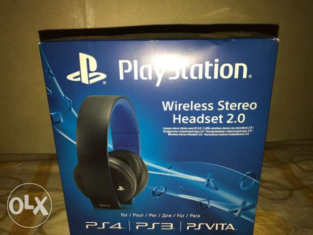 ps4 wireless headset 2.0 , 7.1 surround sound