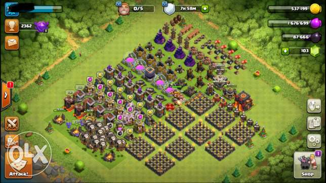 Clash of Clans TH9.5 Max