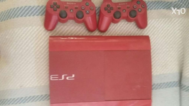 Ps3 500gb with games with camera