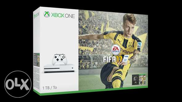 Xbox One S FIFA 17 Bundle (1TB) المعادي -  1