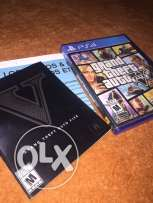 Gta V Ps4 with Map