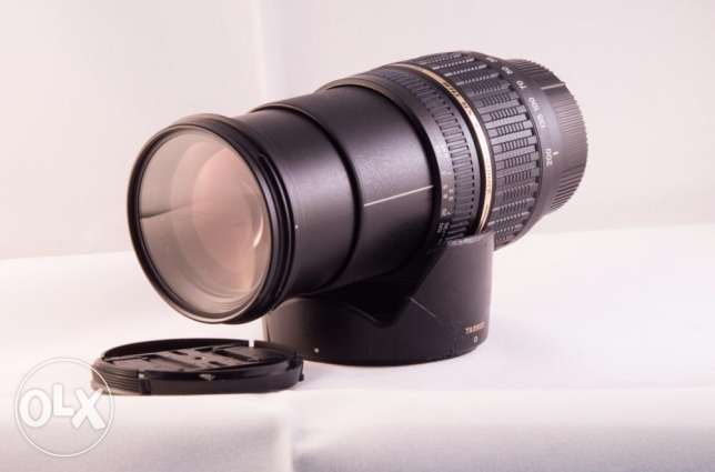 Tamron lens 18-200mm F/3.5-5.6 Macro, Aspherical. For Nikon mount. مصر الجديدة -  7